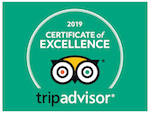 TripAdvisor Certificate of Excellence 2019 The Workshop, Gush Etzion
